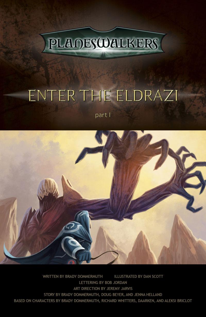 Enter the Eldrazi, Part 1: Title Page