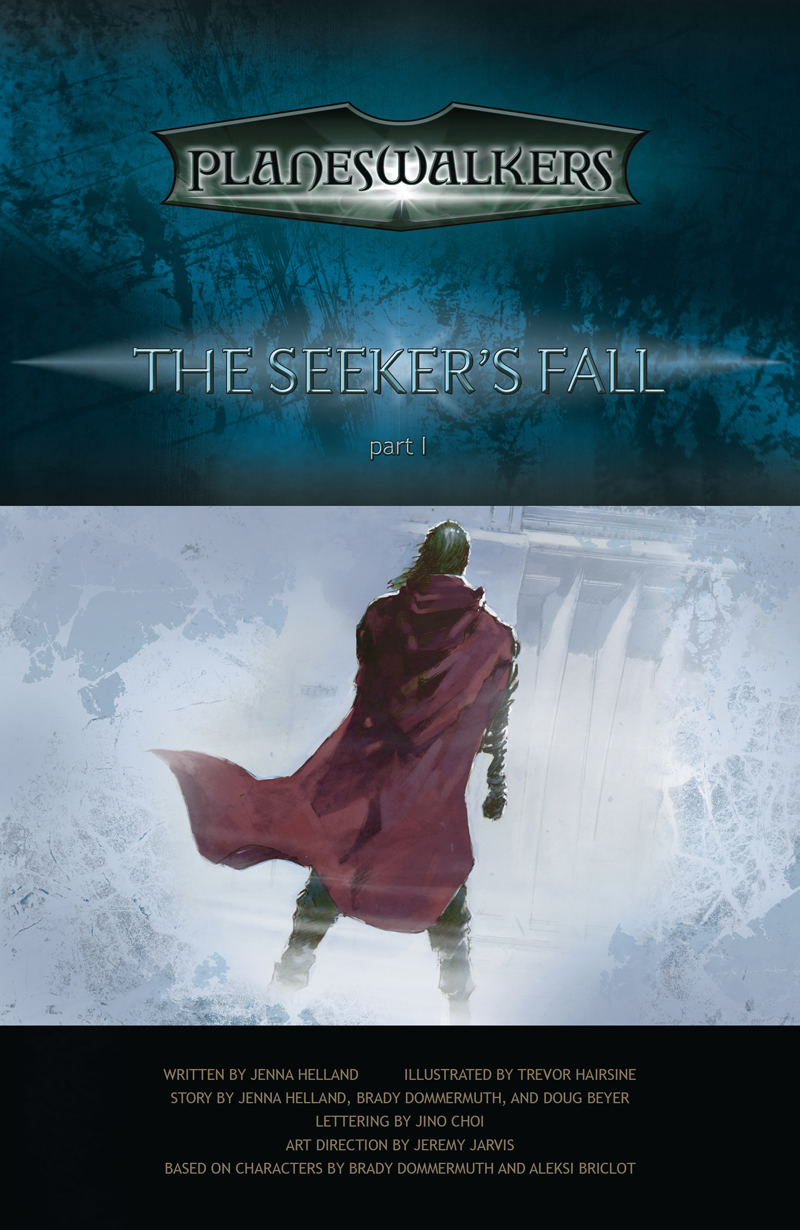 The Seeker's Fall Part 1: Title Page