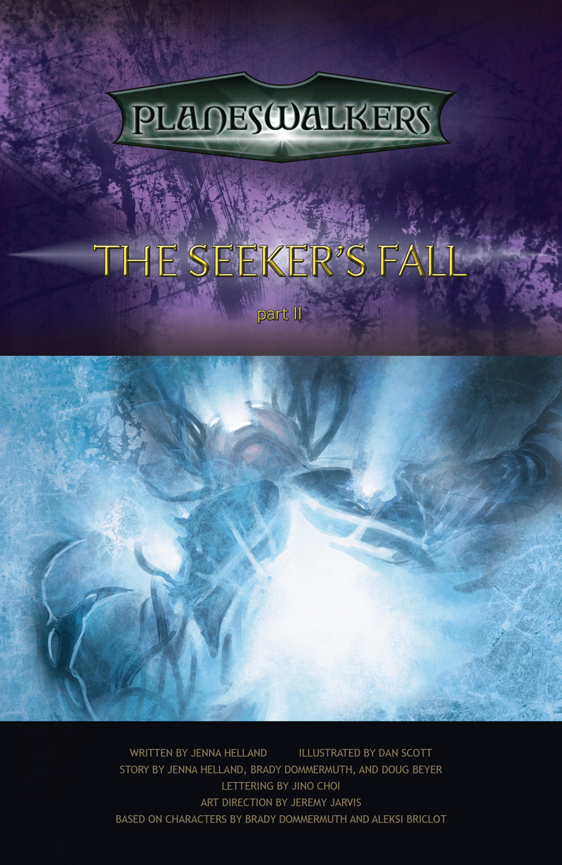 The Seeker's Fall Part 2: Title Page