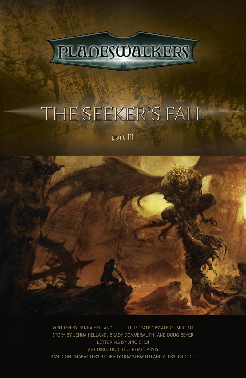 The Seeker's Fall Part 3: Title Page