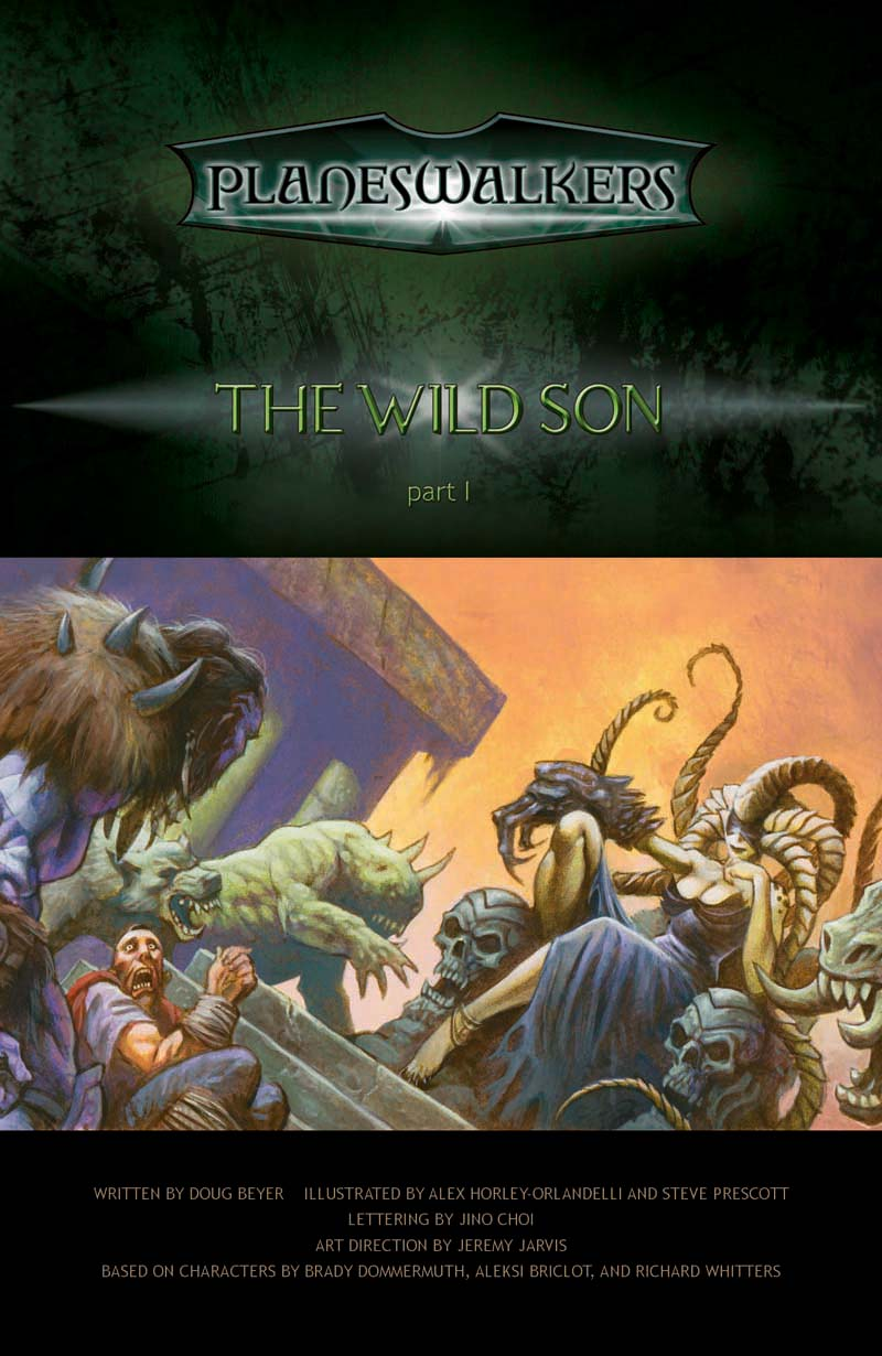 The Wild Son, Part 1: Title Page
