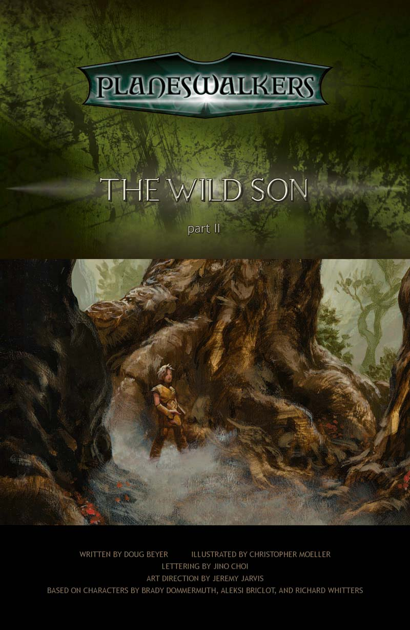The Wild Son, Part 2: Title Page