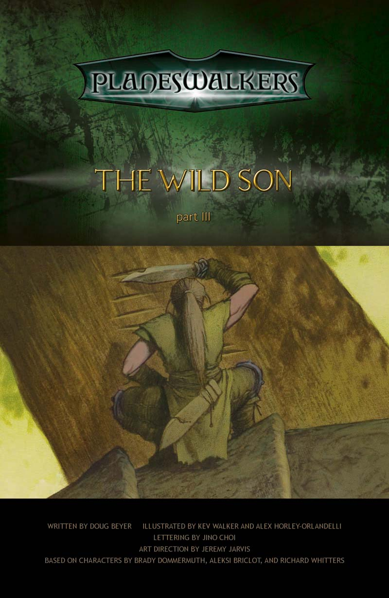 The Wild Son, Part 3: Title Page