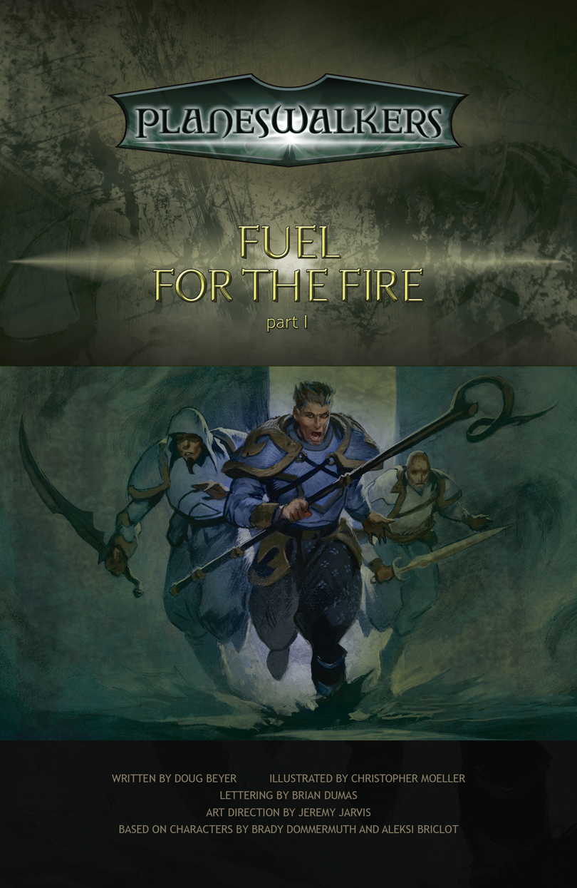 Fuel for the Fire Part 1: Title Page