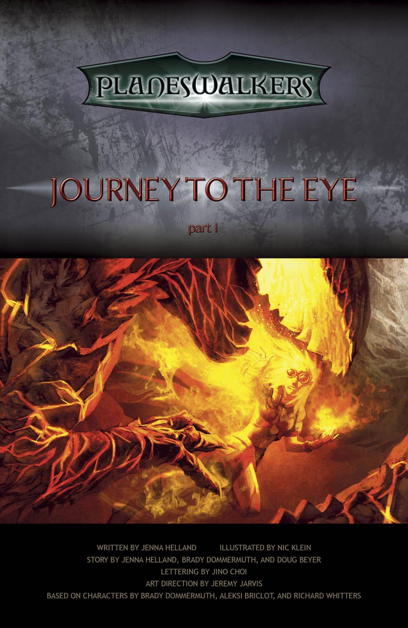 Journey to the Eye, Part 1: Title Page