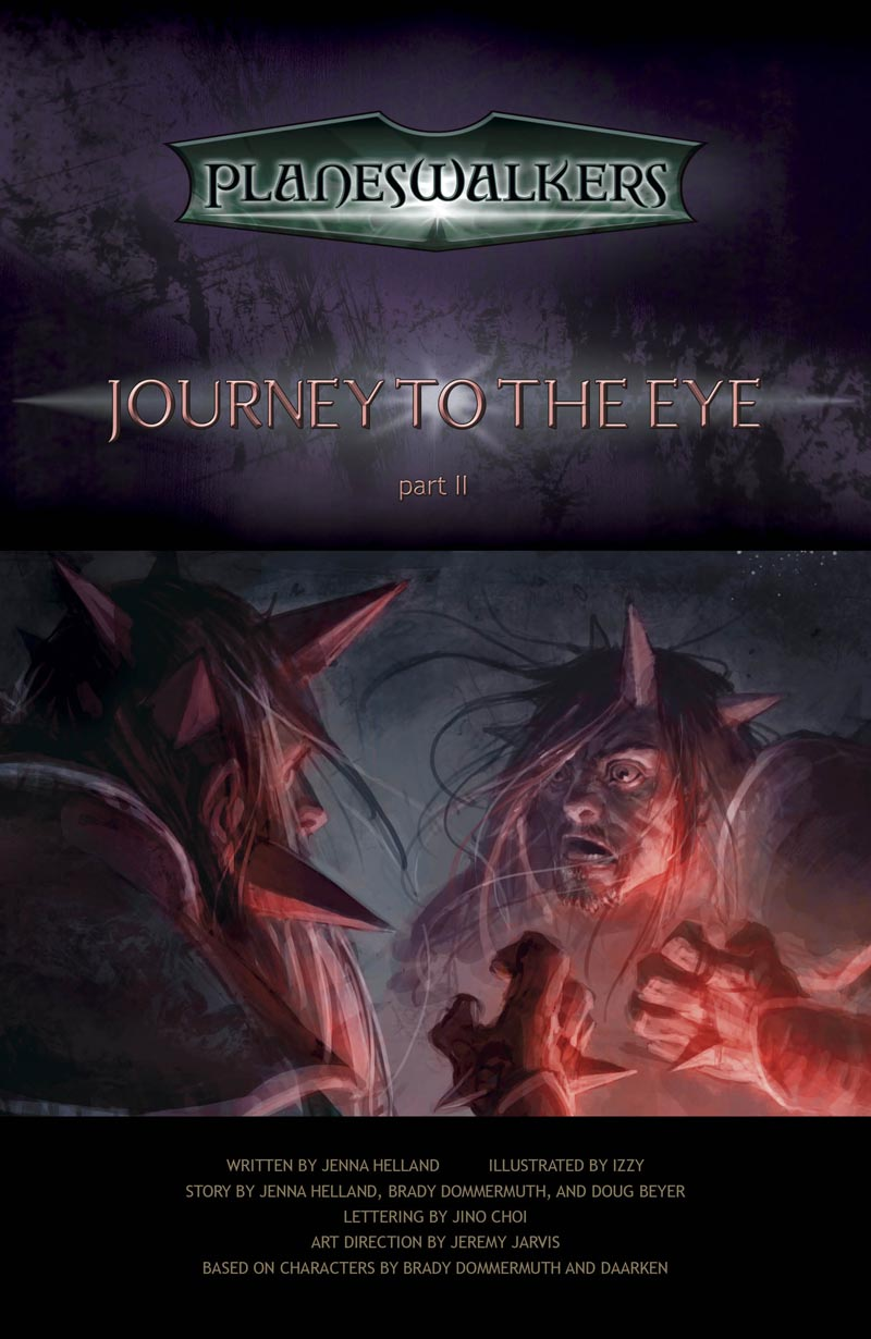 Journey to the Eye, Part 2: Title Page