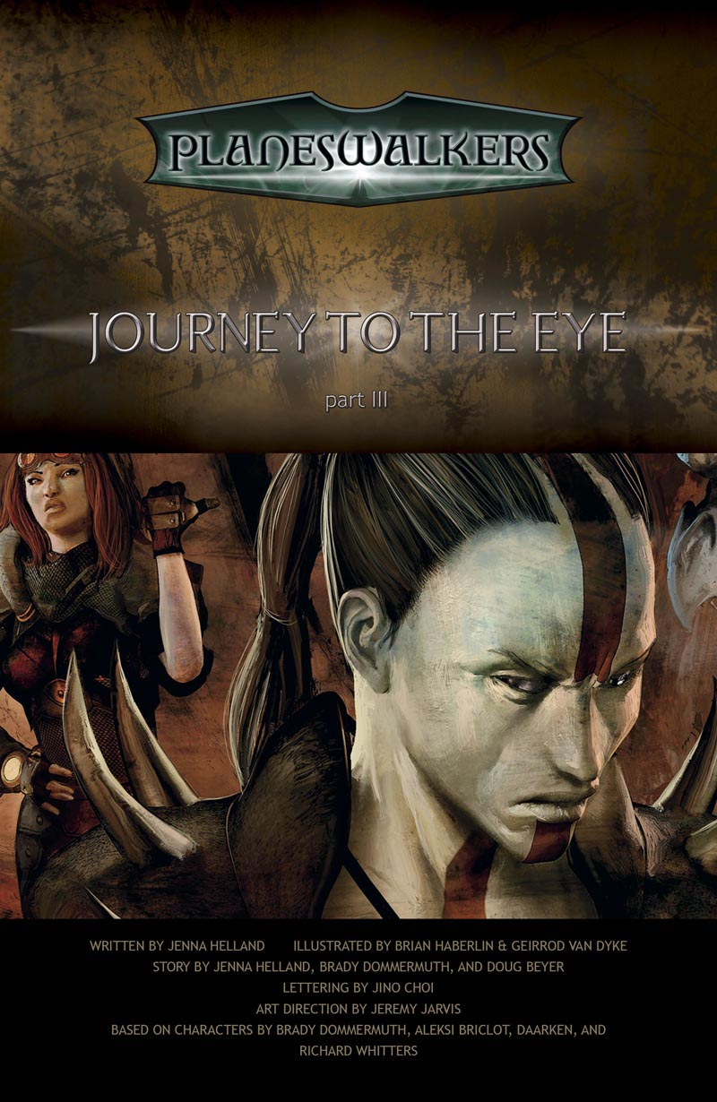 Journey to the Eye, Part 3: Title Page
