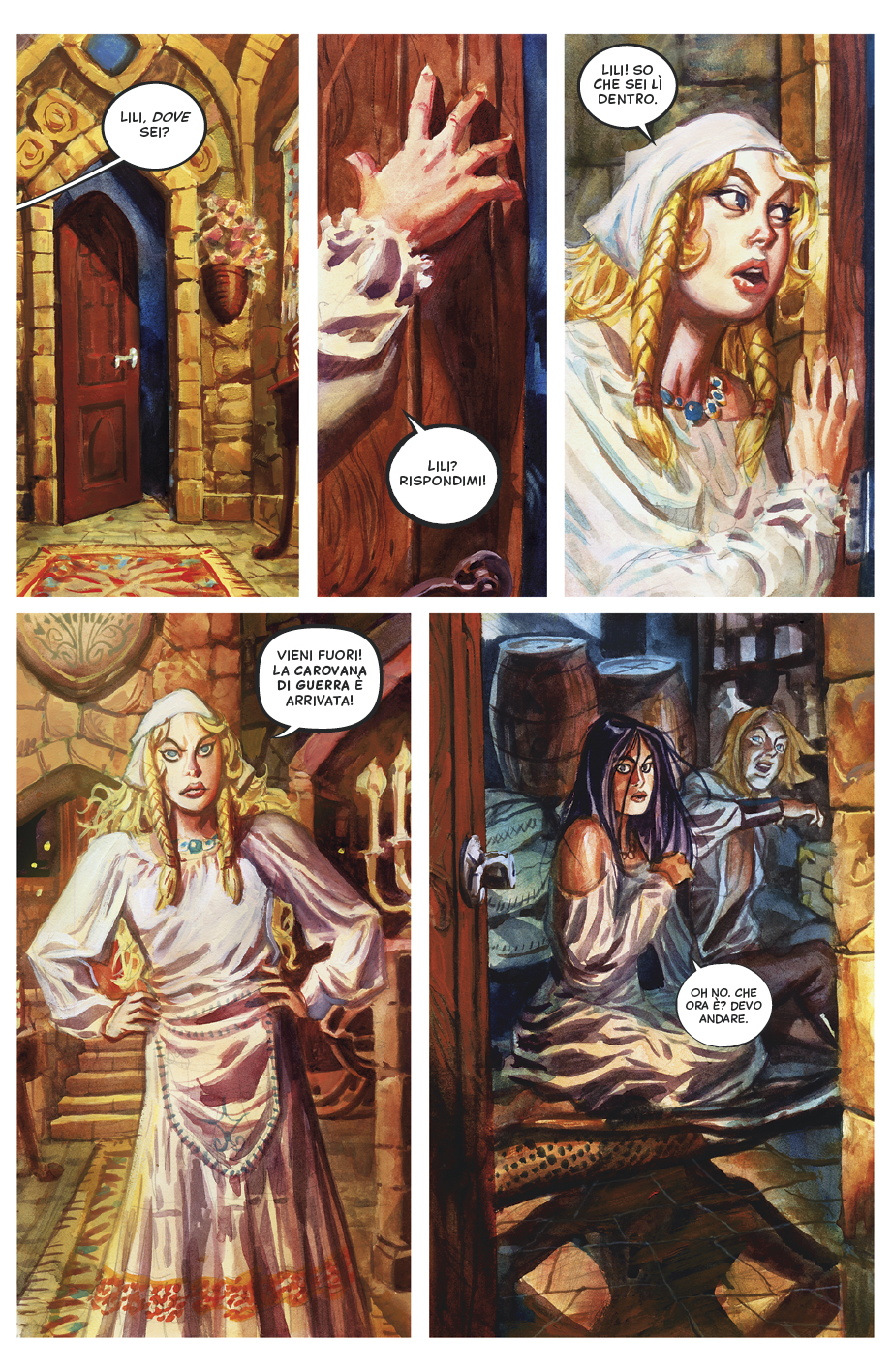 The Raven's Eye, Part 1: Page 2