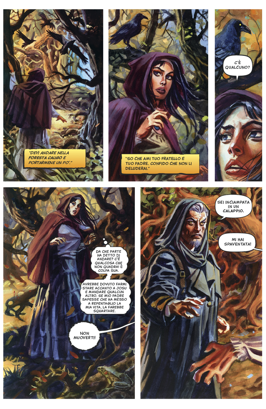 The Raven's Eye, Part 1: Page 5