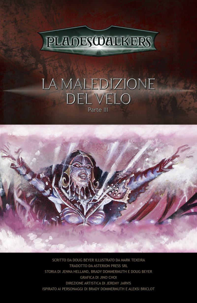 The Veil's Curse, Part 1: Title Page