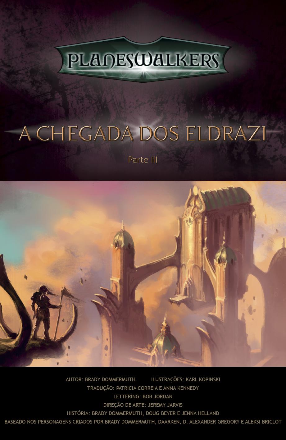Enter the Eldrazi, Part 3: Title Page