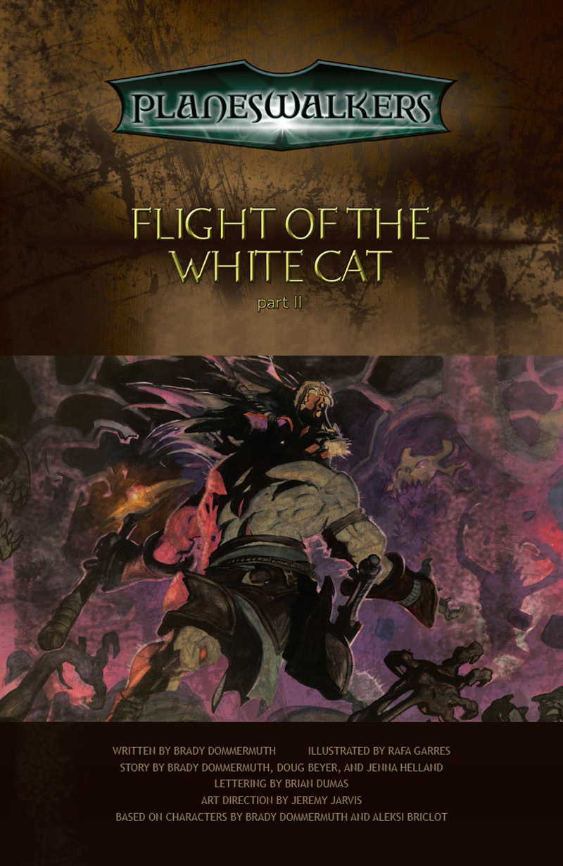 Flight of the White Car: Title Page