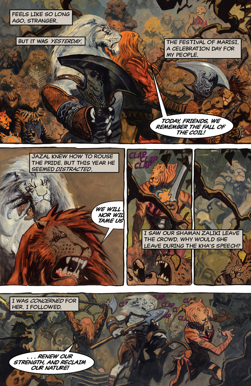 Flight of the White Cat Part 2: Page 2