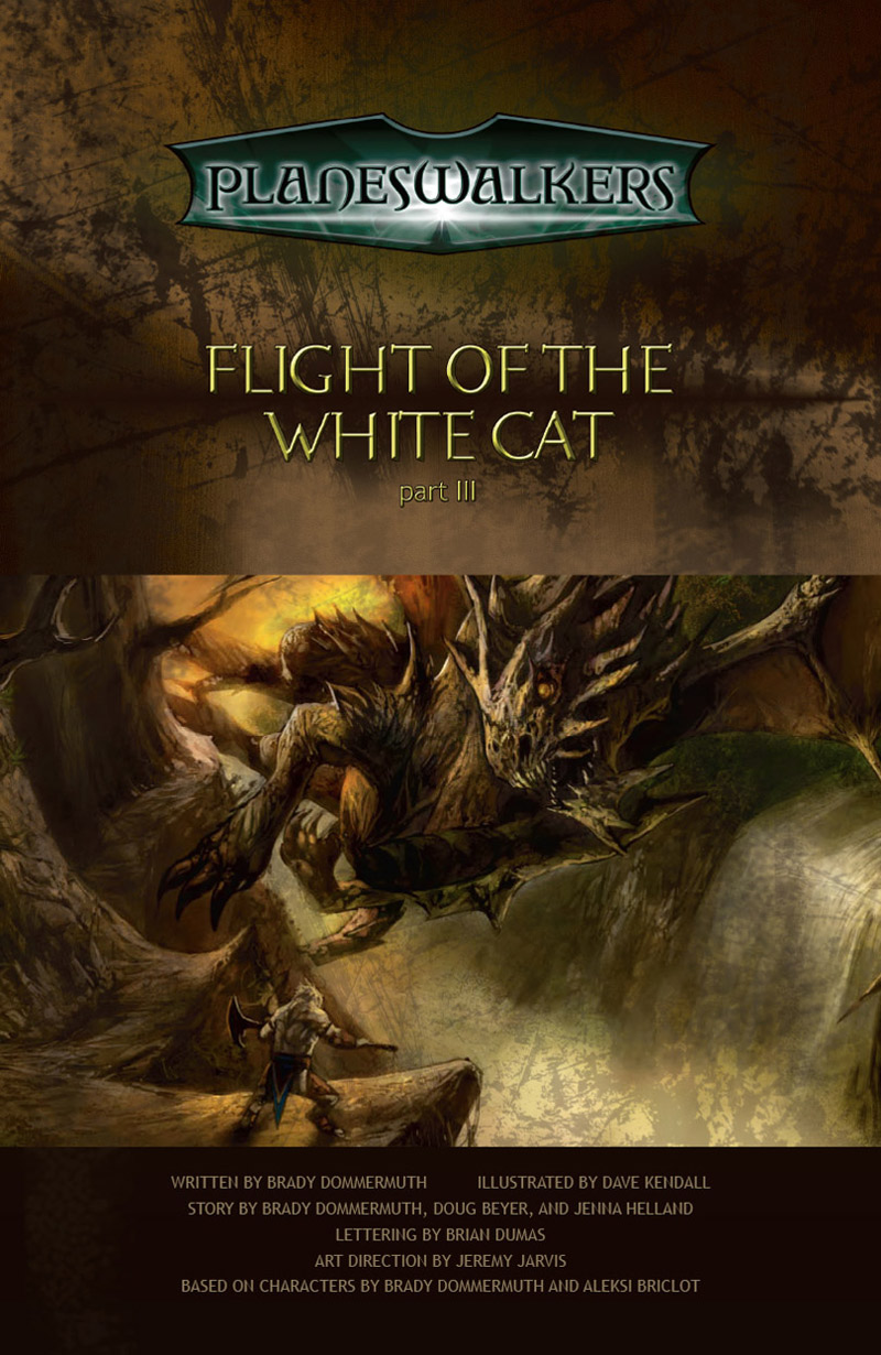 Flight of the White Cat: Title Page