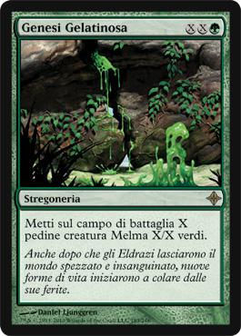 Gelatinous Genesis