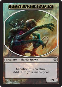 Eldrazi Spawn Token