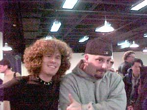 "Josh Bennett and John ""Friggin"" Rizzo"
