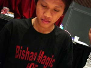 Ding Yuen Leong went to GP Kuala Lumpur and all he got was this T-shirt.
