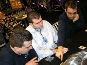 The Max Fischer Players, left to right: Igor, Josh, Chris