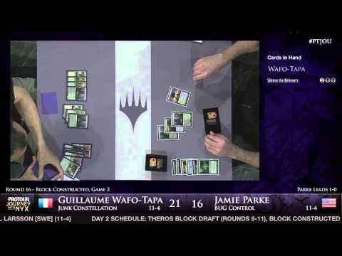 Pro Tour Journey into Nyx - Round 16 (Block) - Guillaume Wafo-Tapa vs. Jamie Parke