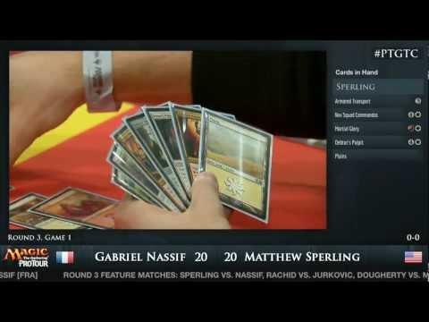 Pro Tour Gatecrash Round 3: Gabriel Nassif vs. Matt Sperling