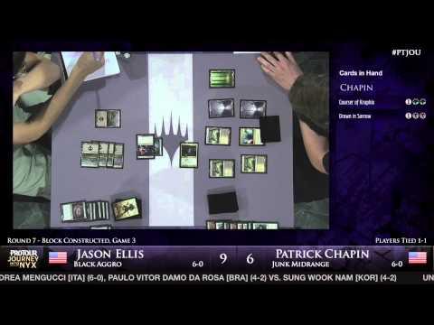 Pro Tour Journey into Nyx - Round 7 (Block) - Jason Ellis vs. Patrick Chapin