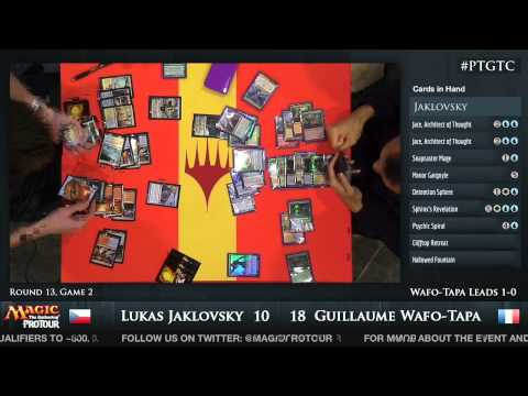 Pro Tour Gatecrash Round 13: Lukas Jaklovsky vs. Guillaume Wafo-Tapa (Standard)