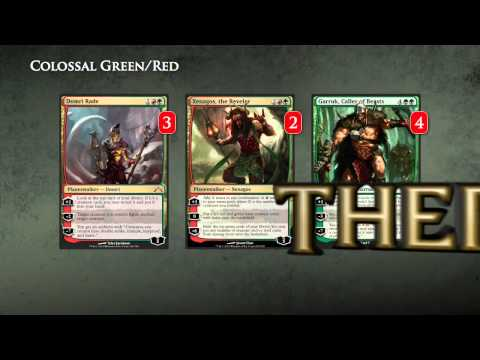 Pro Tour Theros - Deck Tech Colossal Gruul with Makihito Mihara