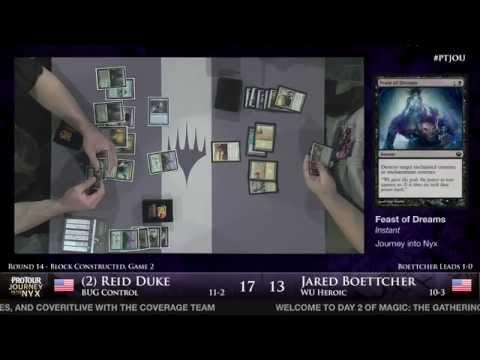 Pro Tour Journey into Nyx - Round 14 (Block) - (2) Reid Duke vs. Jared Boettcher