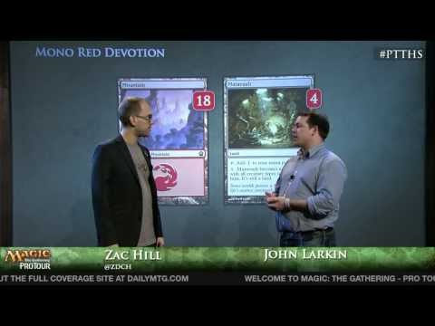 Pro Tour Theros - Deck Tech Mono Red Devotion with John Larkin