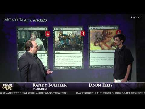 Pro Tour Journey into Nyx Deck Tech - Jason Ellis with Mono-Black Aggro