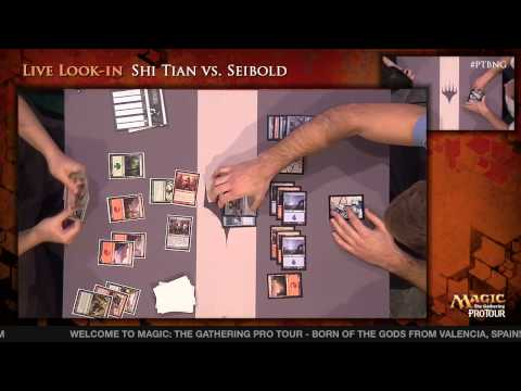 Pro Tour Born of the Gods - Draft Rd. 10 - (7) Tom Martell vs. Daniel Unwin