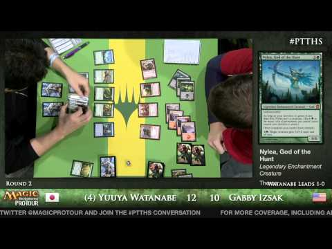 Pro Tour Theros - Theros Draft Round 2 - (1) Josh Utter-Leyton vs. Mark Morrison