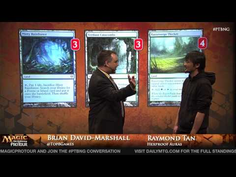 Pro Tour Born of the Gods Modern Deck Tech: Hexproof Aurus with Raymond Tan