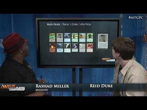 2012 Players Championship Draft Tech: Cube Draft with Reid Duke