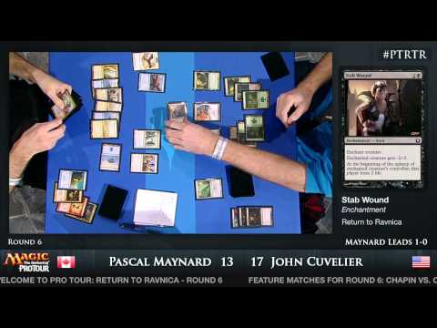 Pro Tour Return to Ravnica: Round 6 (Booster Draft)