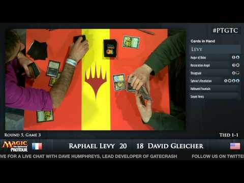 Pro Tour Gatecrash Round 5: Raphael Levy vs. David Gleicher (Standard)