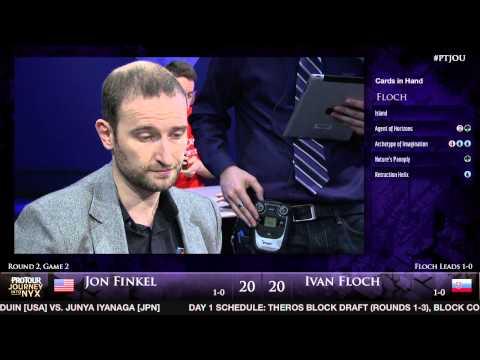Pro Tour Journey into Nyx - Round 2 (Draft) - Jon Finkel vs. Ivan Floch