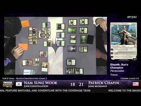 Pro Tour Journey into Nyx - Finals - Patrick Chapin vs. Nam Sung Wook