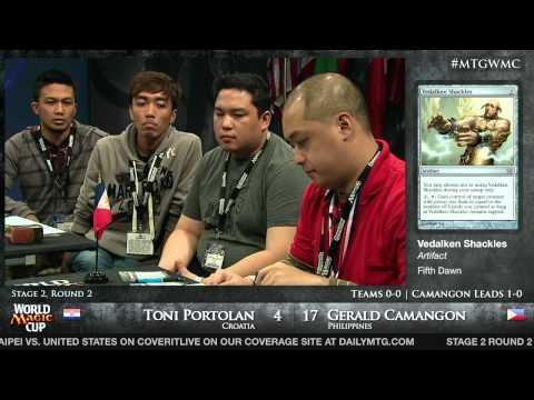 World Magic Cup 2012: Team Stage 2, Round 2