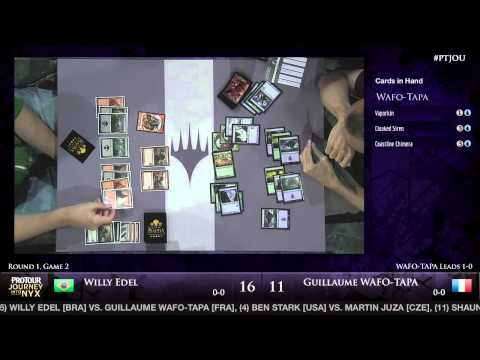 Pro Tour Journey into Nyx - Round 1 (Draft) - Willy Edel vs. Guillaume Wafo-Tapa