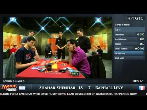 Pro Tour Gatecrash Round 7: Shahar Shenhar vs. Raphael Levy (Standard)