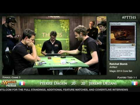Pro Tour Theros - Standard Finals - Jeremy Dezani vs. Pierre Dagen