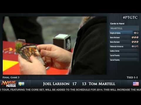 Pro Tour Gatecrash Finals: Tom Martell vs. Joel Larsson