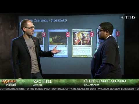 Pro Tour Theros - Deck Tech Esper Control with Christian Calcano