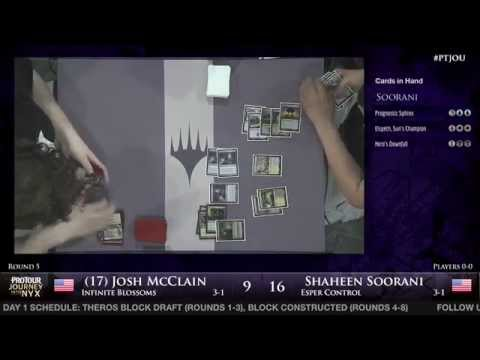Pro Tour Journey into Nyx - Round 5 (Block) - Josh McClain vs. Shaheen Soorani