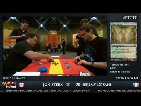 Pro Tour Gatecrash Round 14: Jon Stern vs. Jeremy Dezani (Standard)