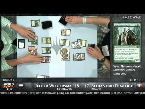 World Magic Cup 2012: Round 2