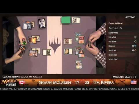 Pro Tour Born of the Gods - Quarterfinal - Shaun McLaren vs. Tim Rivera