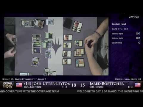 Pro Tour Journey into Nyx - Round 15 (Block) - (13) Josh Utter-Leyton vs. Jared Boettcher